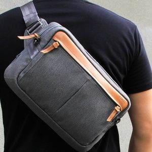 Loft of Cambie Urban Pack Man Bag and Wolyt Sleeve